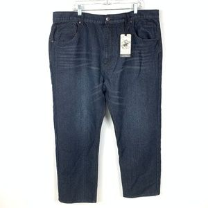 Beverly Hills Polo Club Relaxed Straight Jeans 44